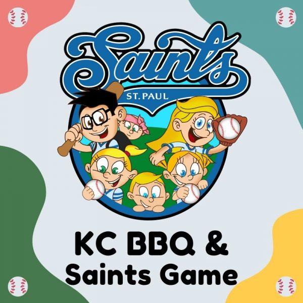 KC BBQ Saints Game