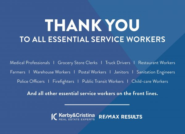 KC Thank you Essential Workers